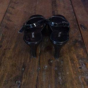 Xappeal Shoes - Women's X-Appeal Black Peep Toe Heels